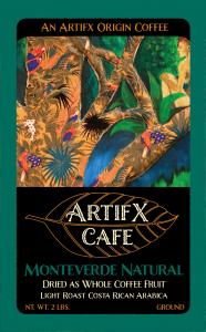 Monteverde Natural Ground 2LB Artifx Cafe