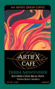 Tierra Monteverde Ground 2LB Artifx Cafe